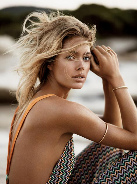 Doutzen Kroes Vogue UK January 2013 pictorial