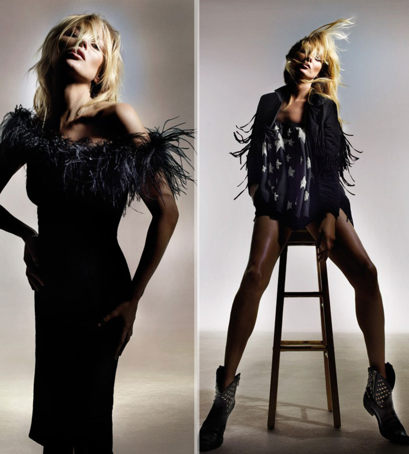 Kate Moss Topshop collection 2014 campaign