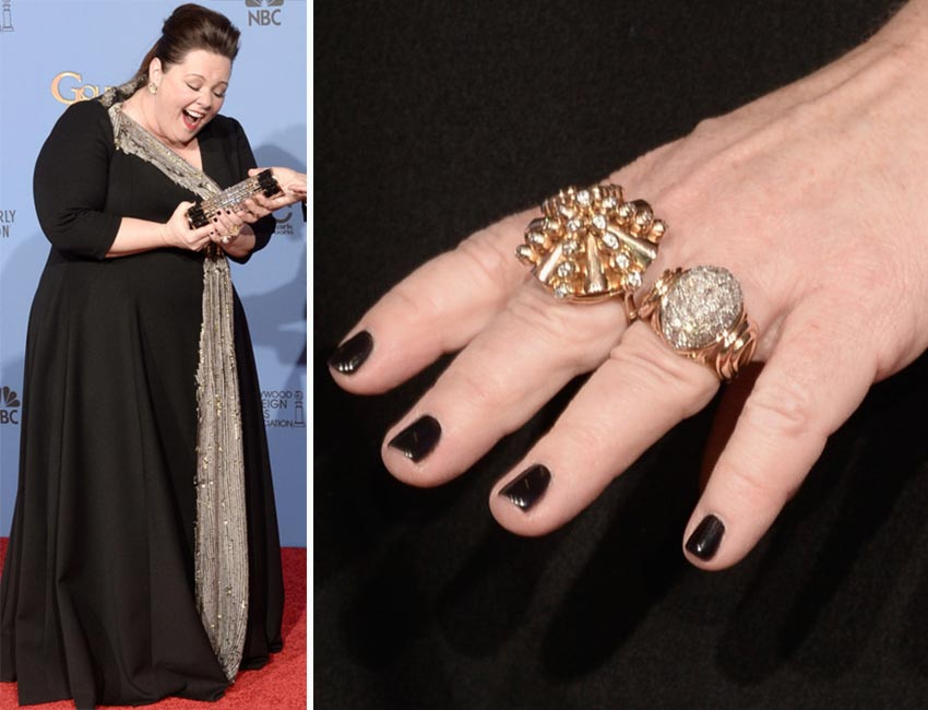 Red Carpet Nails 2014 Golden Globes StyleFrizz