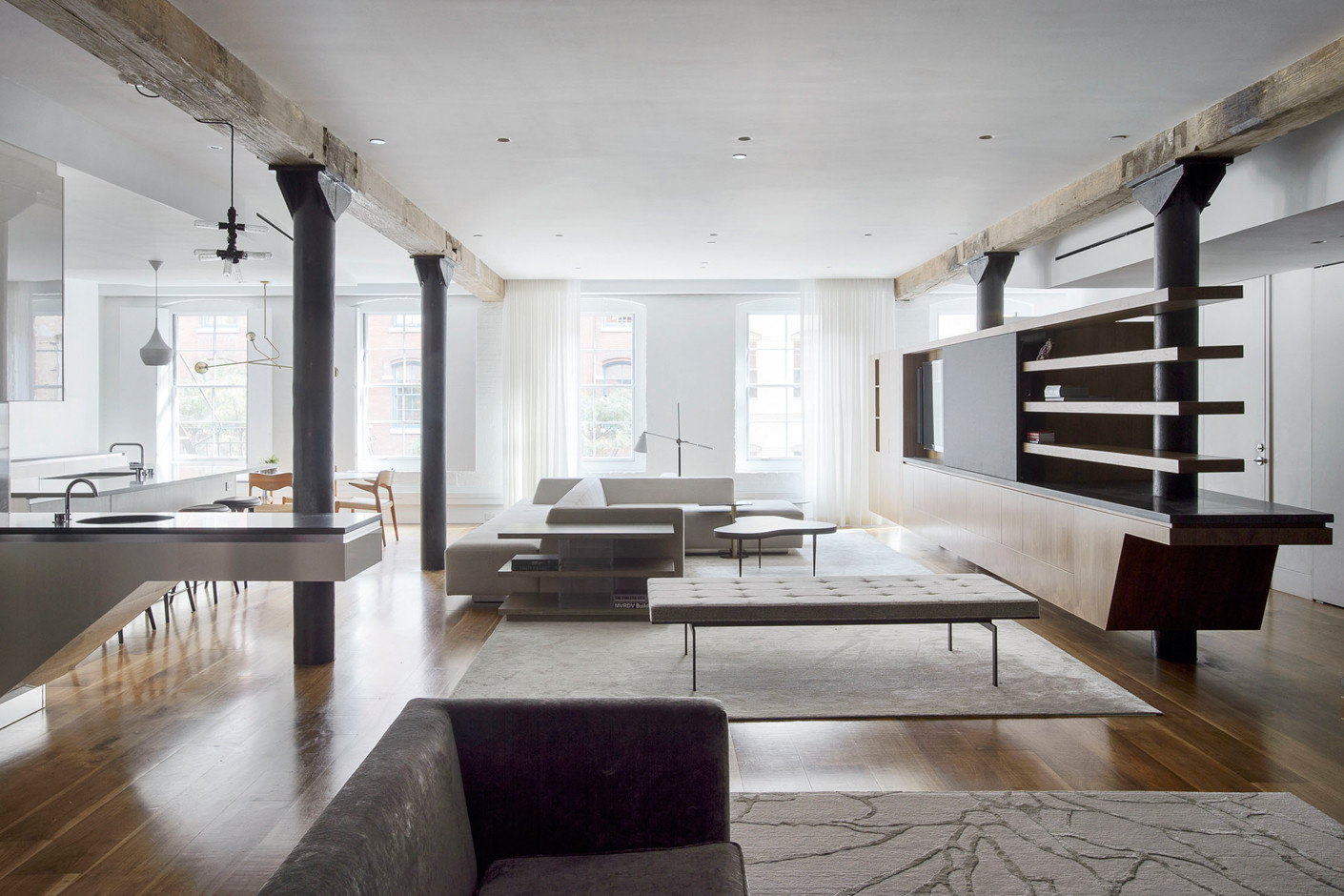A Loft By OA Architects In Manhattan STYLEPARK