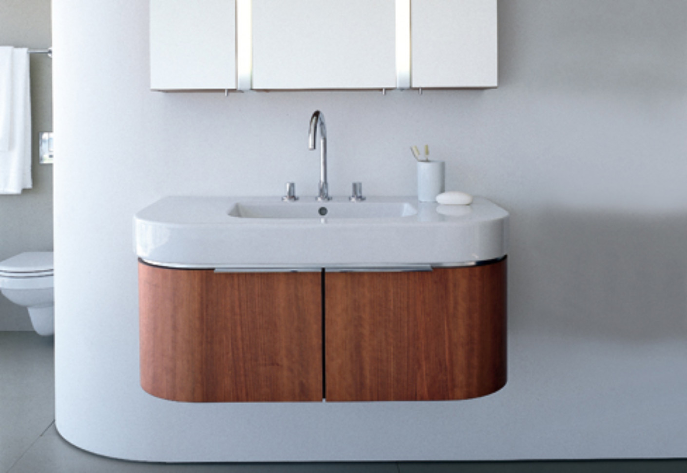 Happy D Vanity Unit Wood By Duravit STYLEPARK