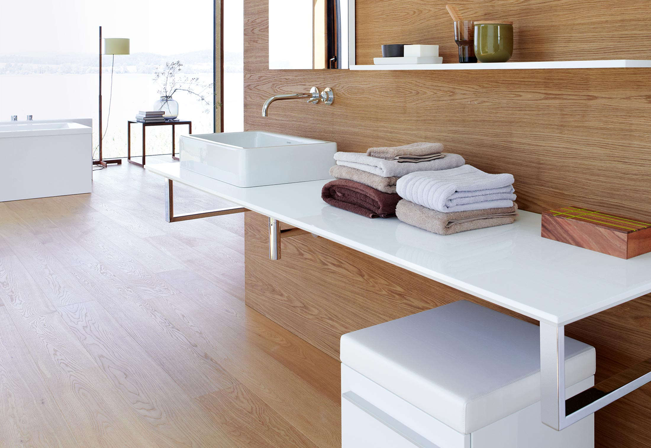 x large console for above counter basin