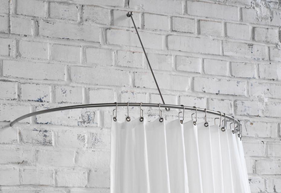 shower curtain semi circle rail dr 140