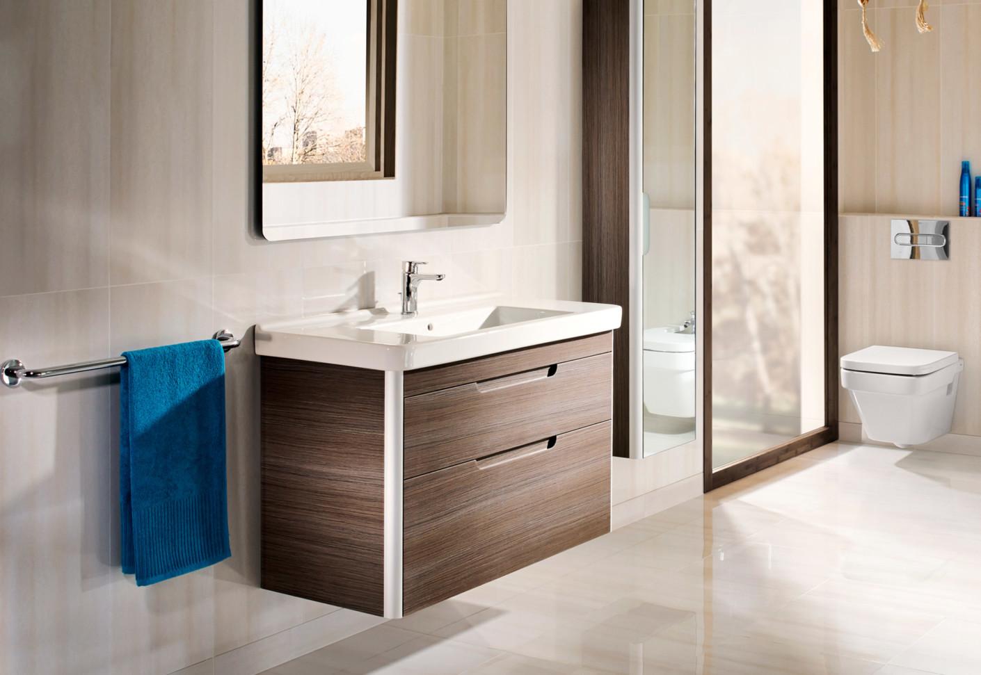 Dama Wash Basin With Vanity Unit By Roca STYLEPARK