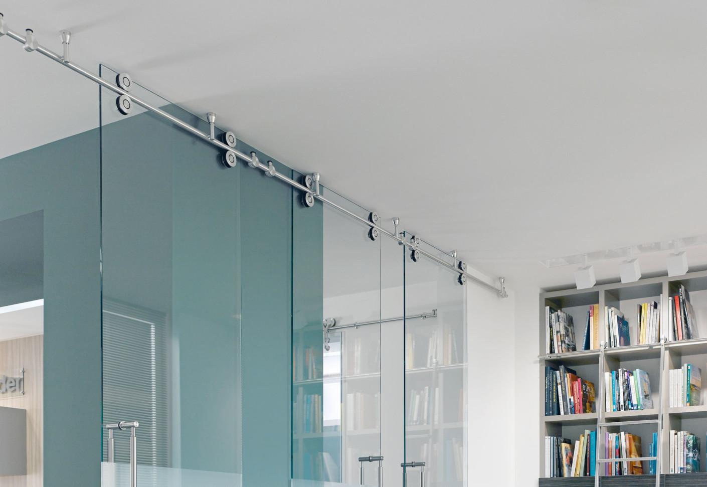 Twin Sliding Door System By Mwe Stylepark