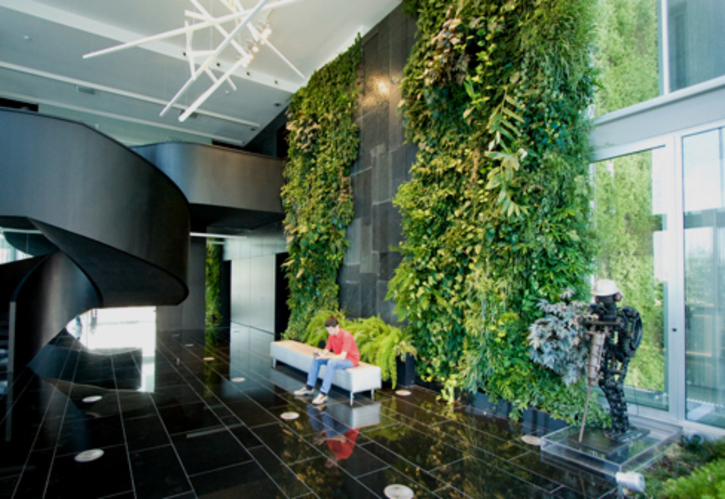 Indoor Wall Natura Towers By Vertical Garden Design STYLEPARK