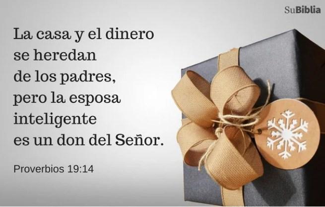 Proverbios 19:14