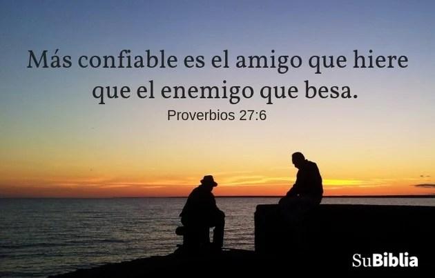 Proverbios 27:6