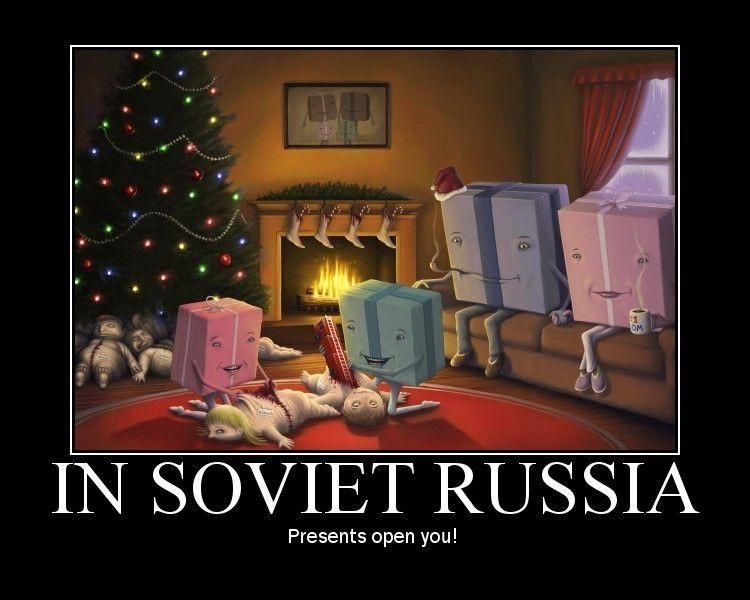In Soviet Russia Memes Me