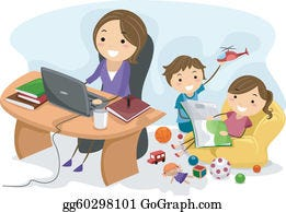 Parenting Clip Art - Royalty Free - GoGraph