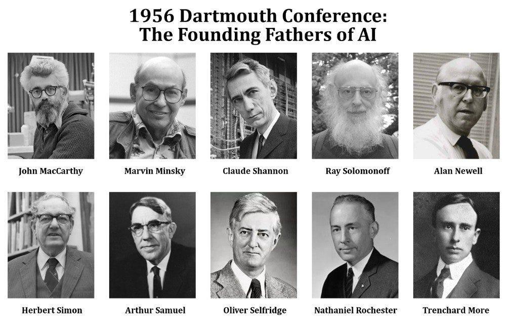 Dartmouth Workshop: The Birthplace Of AI   by Zizu   RLA Academy   Medium