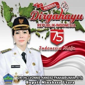 Bupati VAP Ucapkan Selamat HUT Ke-75 Republik Indonesia - Palakat Berita
