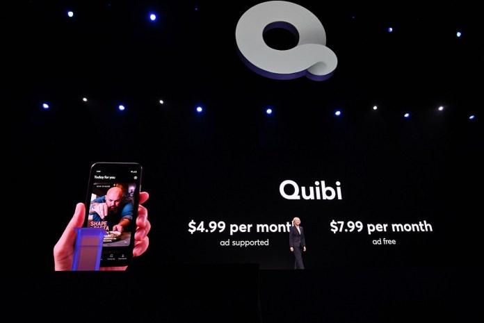 Image result for Quibi 4.99