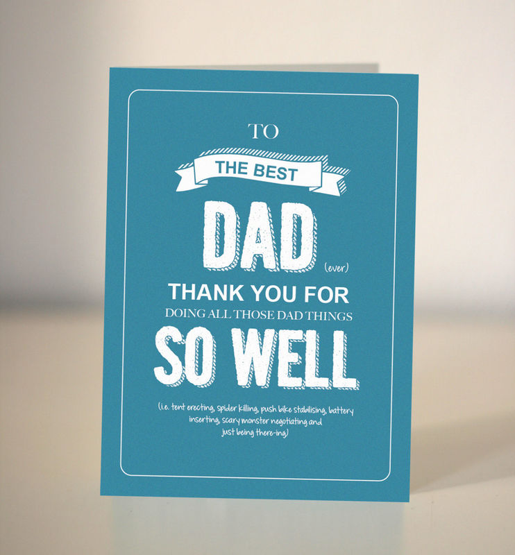 Fathers Day Cards Collection Dickens Ink