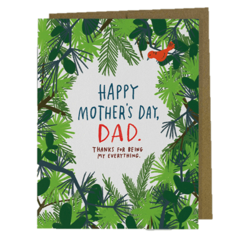 Happy Mothers Day Dad Mothers Day Card Anas