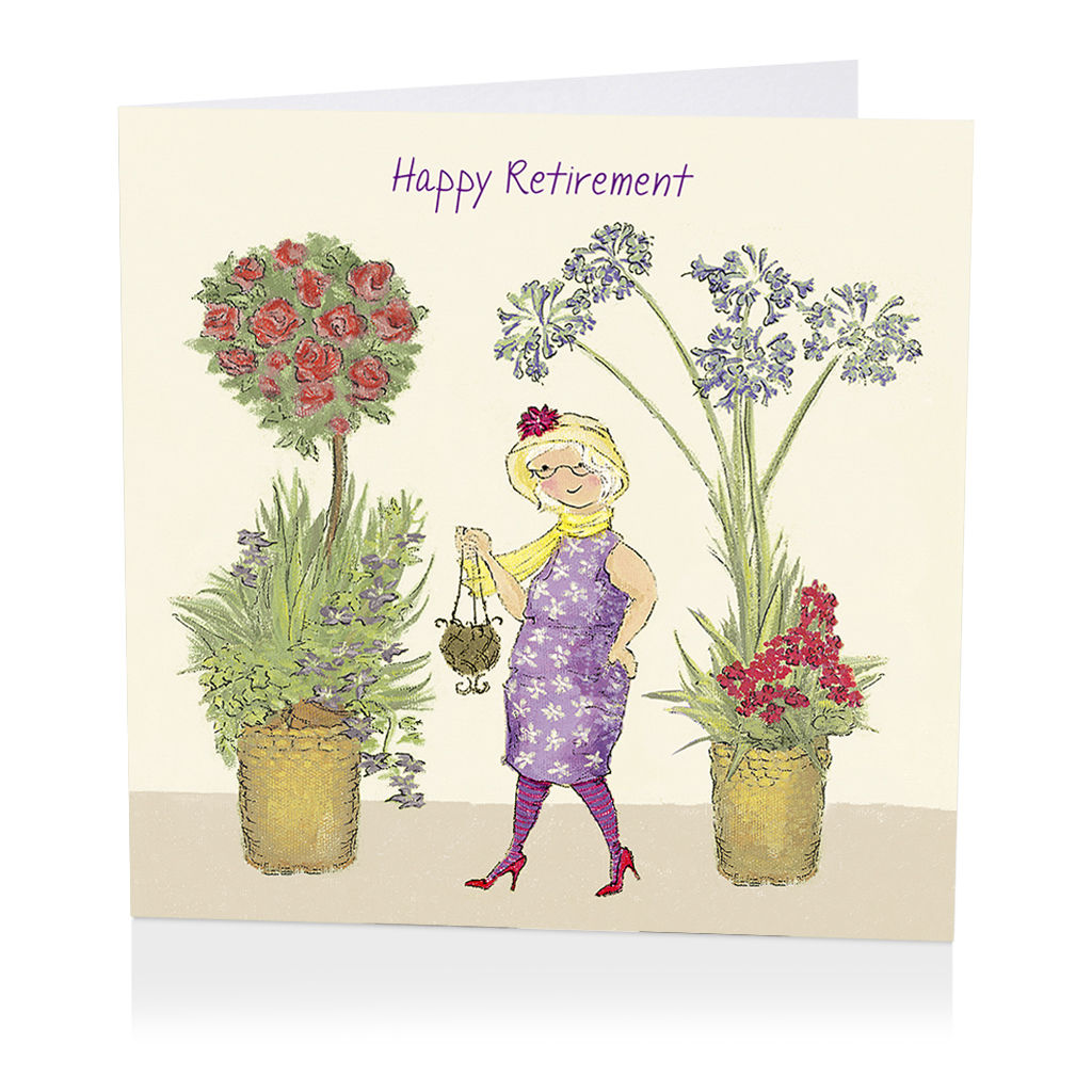 Printable Happy Retirement Card Just BCAUSE