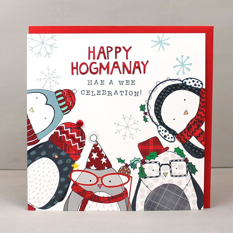 New Years Eve And Hogmanay Invitations And Cards