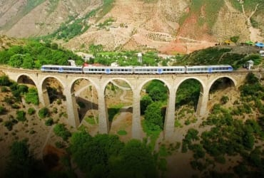 Iran's Northern Railway Crossing the Alborz Mountains on a Private Train