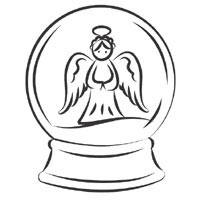 snow globe coloring pictures coloring pages now