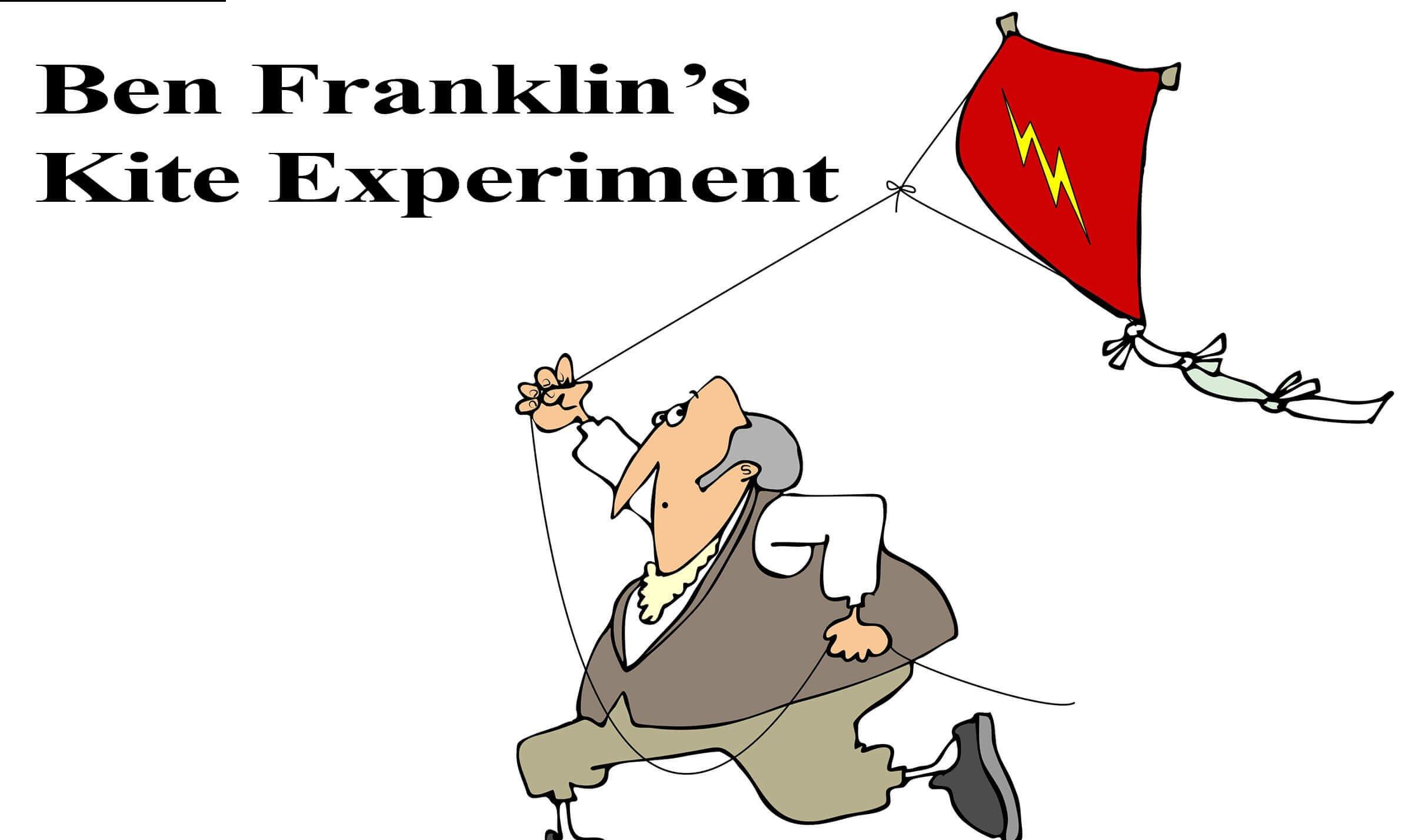 Ben Franklin S Kite Experiment Resources Surfnetkids