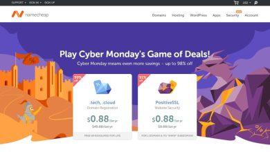 Photo of Rayakan Cyber Monday, NameCheap Diskon Hingga 98%