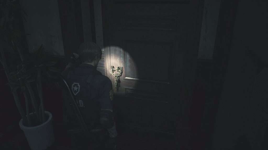 Chained Door Resident Evil 2: Remake