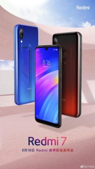 Redmi 7 dan Note 7 Bakal Diluncurkan 18 Maret Ini