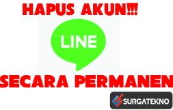 cara hapus akun line messenger secara permanen