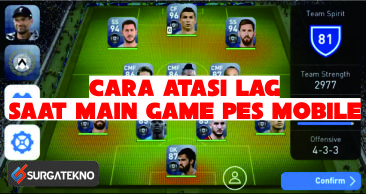Cara Mengatasi LAG di PES Mobile 2019 (Updated)