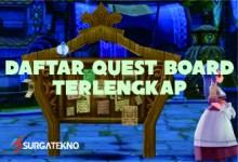Photo of Daftar Quest Board Ragnarok Eternal Love