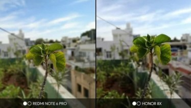 perbandingan hasil kamera honor 8x dengan redmi note 6 pro