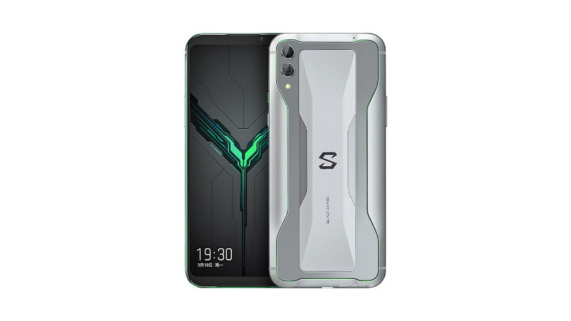 xiaomi black shark 2 under display finger print
