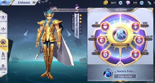 cara enhance saint seiya awakening