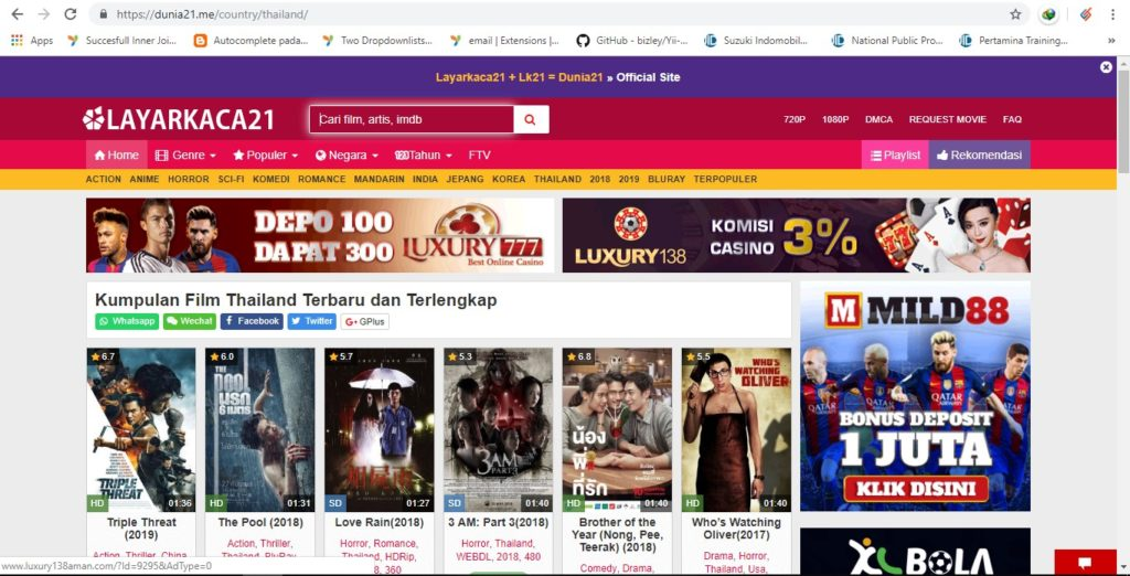 dunia21 - tempat download film thailand