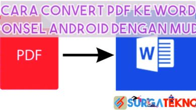 Photo of 3 Cara Convert PDF ke Word di Ponsel Android