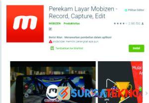 Mobizen - Aplikasi Perekam Layar