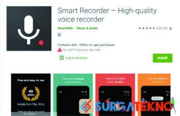 aplikasi smart recorder