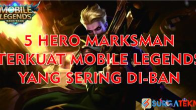 Photo of 5 Hero Marksman Terkuat Mobile Legends yang Sering di Ban