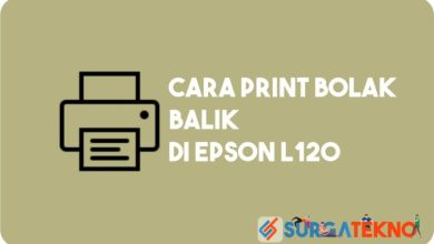 Photo of Cara Print Bolak Balik Epson L120