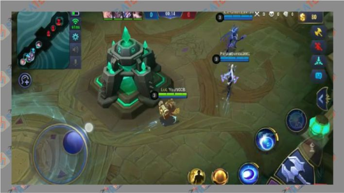 Bermain Game Mobile Legends Unity Engine