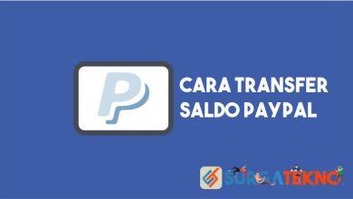 Photo of Cara Transfer Saldo Paypal