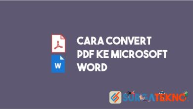Photo of Cara Mudah Convert PDF ke Word