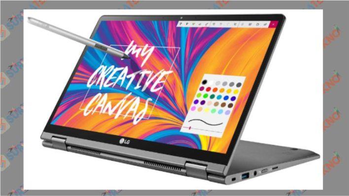 LG GRAM 14 inch 2in1 - Laptop LG untuk Desain