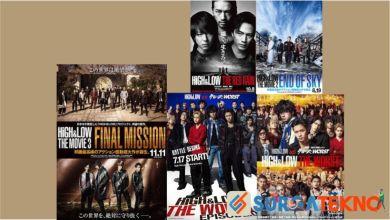 Photo of 9 Urutan Film dan Drama Jepang High and Low