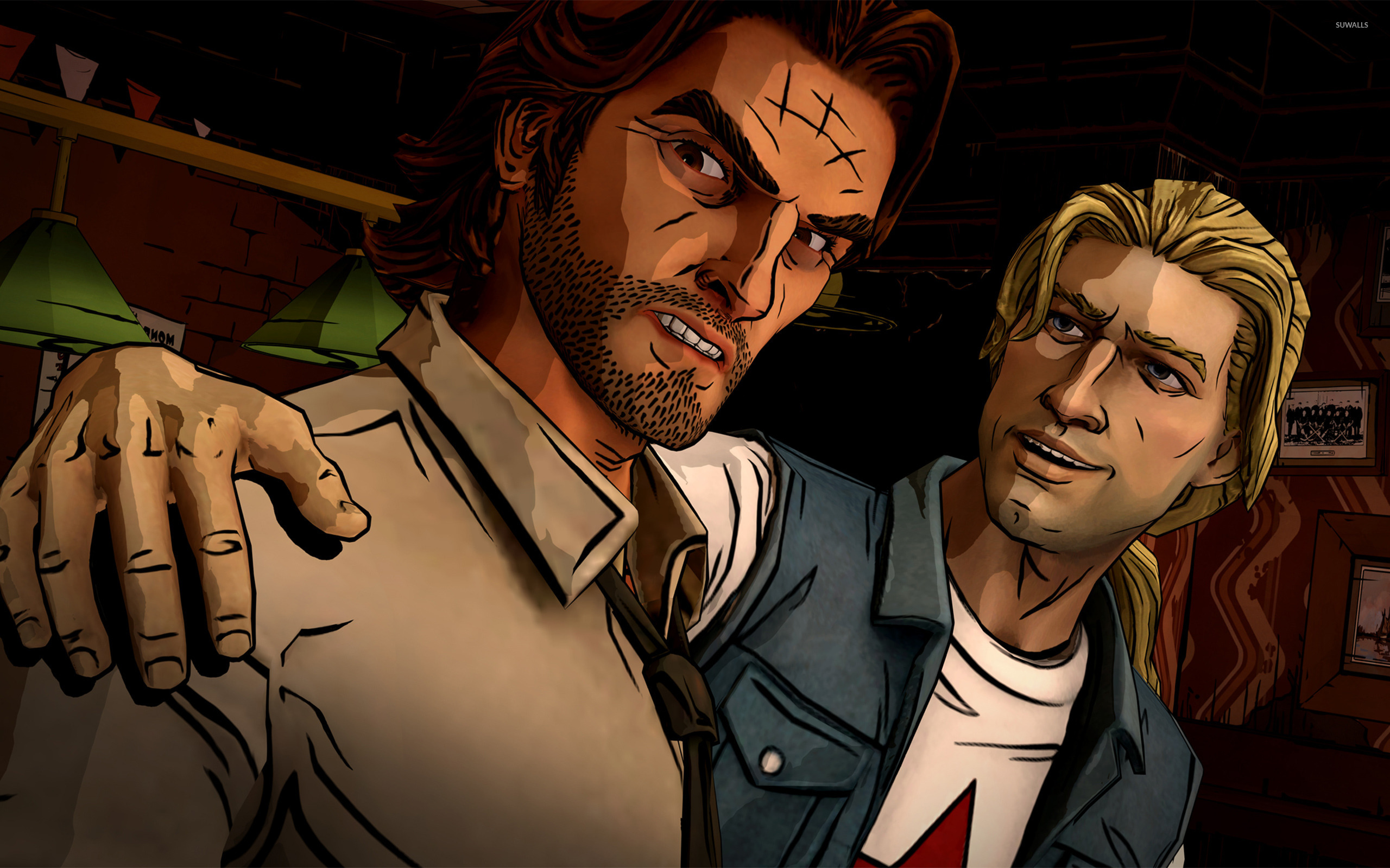 Bigby Wolf And Jack Horner The Wolf Among Us Wallpaper Game