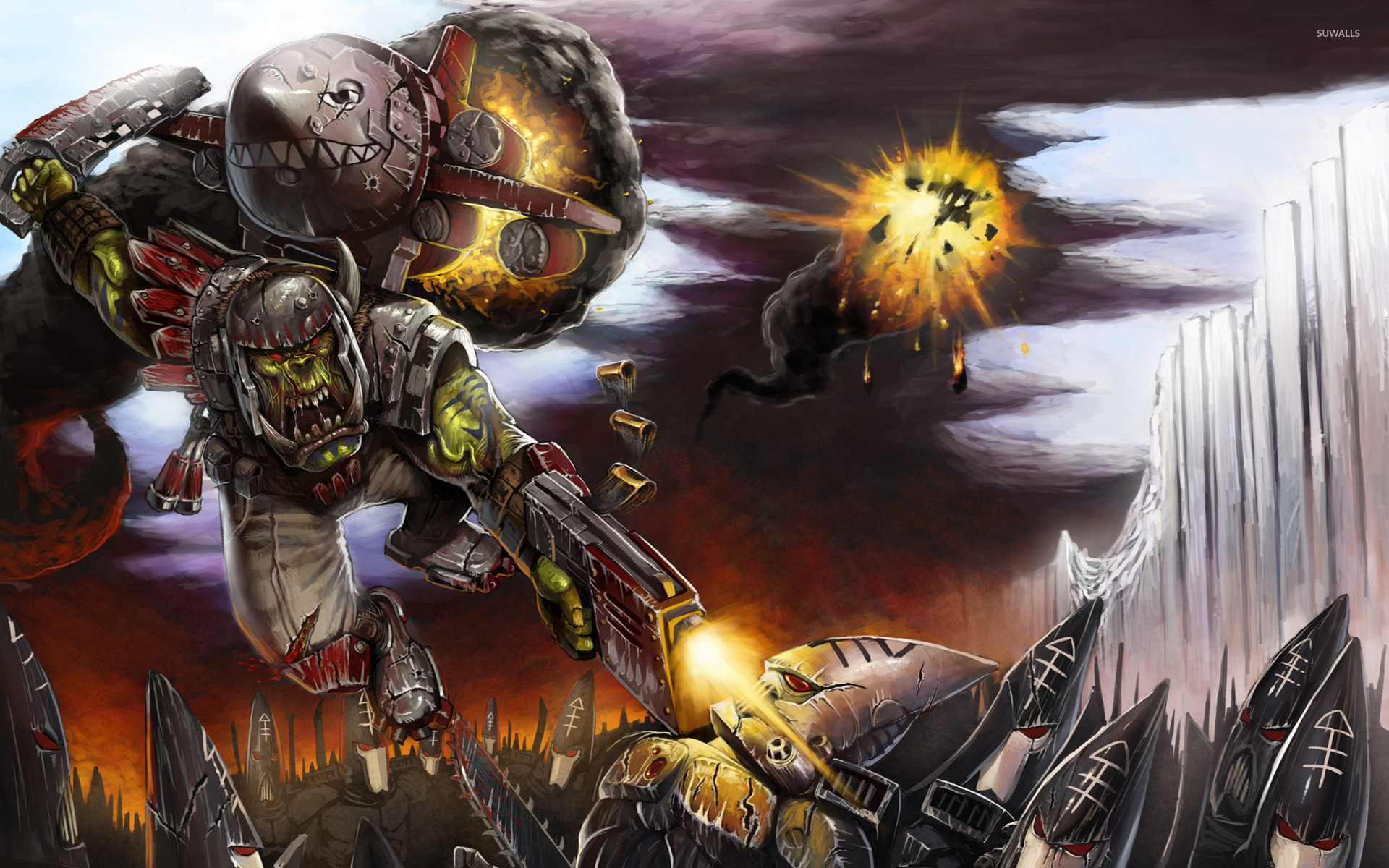 Warhammer 40000 Space Marine 7 Wallpaper Game
