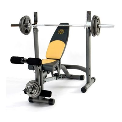 Golds Gym Maxi Workout Bench Sweatband Com