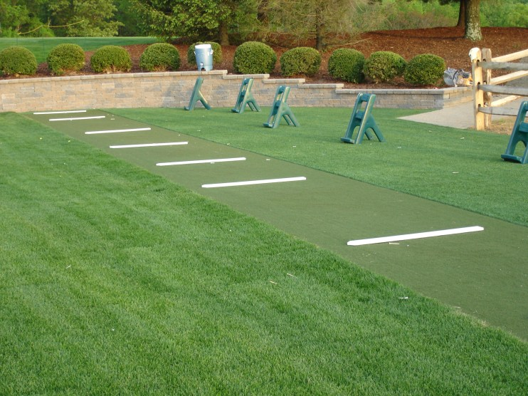Synthetic Turf International EZTee Tee Line Hitting Mats Golf Artificial Grass