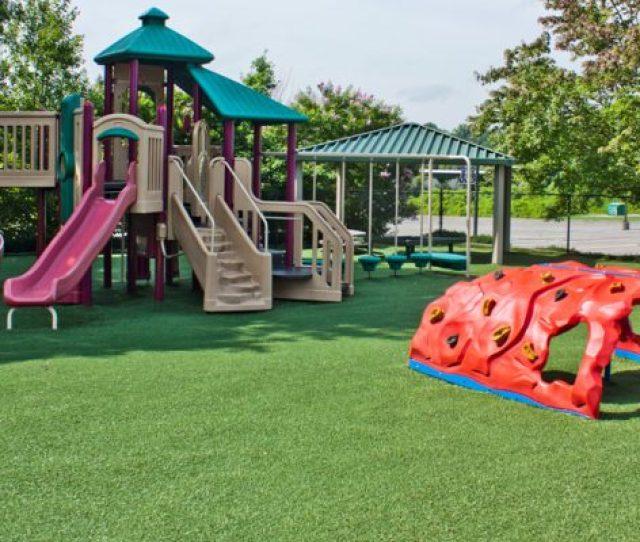Synthetic Turf International Softlawn Playground