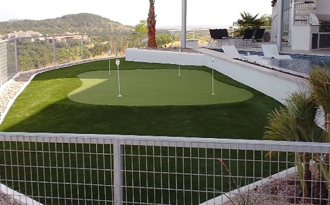 Residential Putting Green Turf